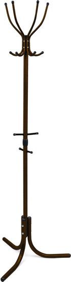 Вешалка напольная Ника Комфорт ВК4 А (цвет-медный антик, 4 крючка, 600х600х1800мм)