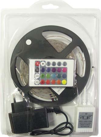 Светящаяся лента JLH3528 270 LED 5м (SMD LED Flexible Strip) белая