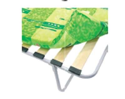 Раскладушка детская Пионер М600 КРД-1ЛМ-60 (раскладная кровать на ламелях с матрасом)