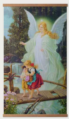Инфракрасный пленочный обогреватель Домашний очаг 500Вт картинка Ангел хранитель