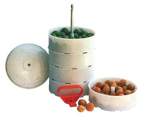 Ведро пятисекционное ВС-5 для транспортировки ягод (вместимость 8.0л)