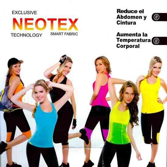 Майка для похудения HOT SHAPERS NEOTEX (S) черная (CINTURILLA REDUCTORA) 6952856632369