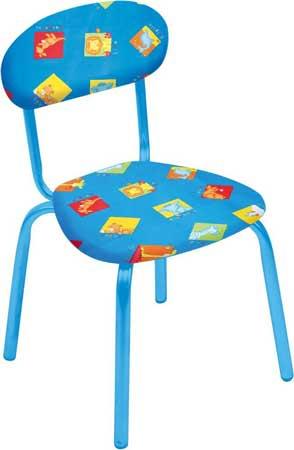 Стул детский Ника СТУ5 (от 1.5 до 3 лет, мягкое сиденье и спинка, высота до сиденья 290 мм)
