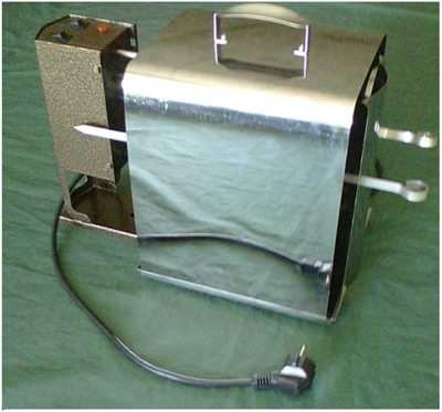 Электрошашлычница (горизонтальная шашлычница) Элвин ЭШГ-1,0 220 нержавеющая сталь