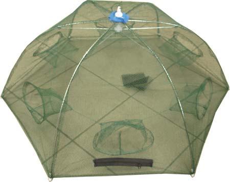 Раколовка d 85см h 30см 6 входов (механизм типа зонт)