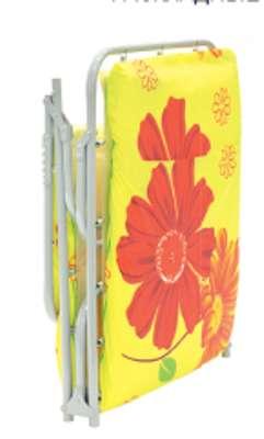 Раскладушка Пушинка М600 (раскладная кровать с матрасом и подголовником)