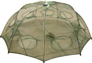 Раколовка d 90см h 35см 8 входов (механизм типа зонт)