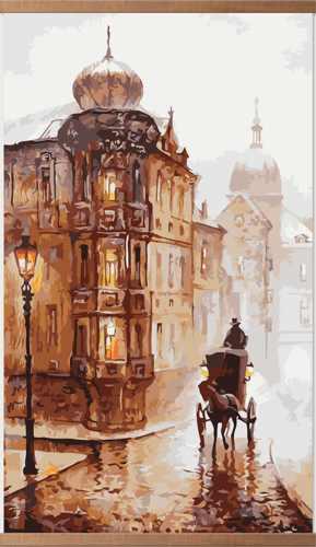 Инфракрасный пленочный обогреватель Домашний очаг 500Вт картинка Старая Прага