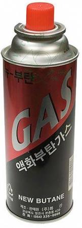 Газовый баллон 220 гр. (B-220) Корея (от-20 до +35)