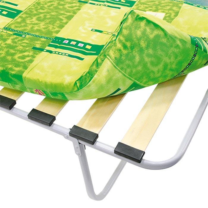 Раскладушка Уют М1000 КР-07ЛМ1000 (раскладная кровать на ламелях с матрасом) 2000х800х315 120кг