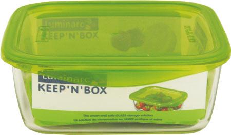 Контейнер прямоугольный RECT KEEPN BOX 380мл, с крышкой