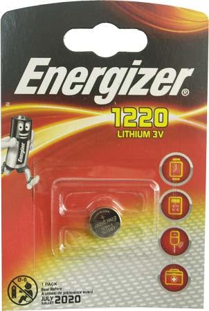 Батарейка Energizer (литиевая) CR1220-BL1 3V (1 шт. в уп.)