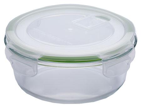 Eley Контейнер стеклянный круглый ELP2802G 640 мл (крышка с вентиляционным клапаном)
