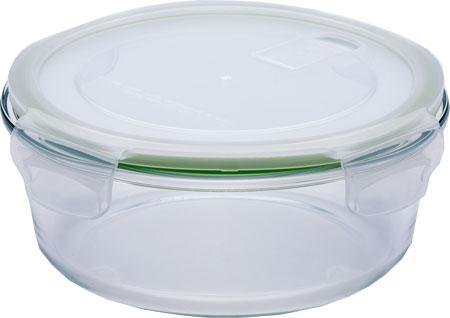 Eley Контейнер стеклянный круглый ELP2803G 970 мл (крышка с вентиляционным клапаном)