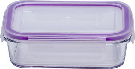 Eley Контейнер стеклянный прямоугольный ELH3401P 400 мл