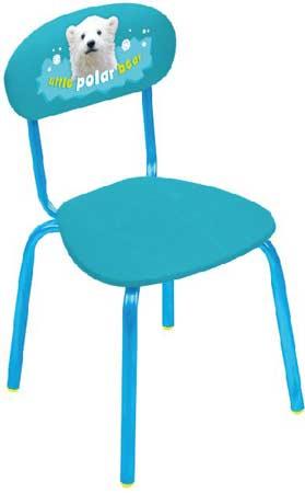 Стул детский Ника СТУ6 (от 3.0 до 7 лет, мягкое сиденье и спинка, высота до сиденья 340 мм)