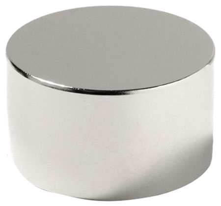 Магнит неодимовый, сила магнита 265 кг (материал N42)