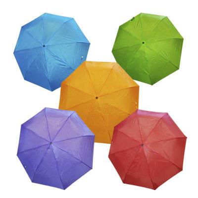 Зонт IRIT IRU-05 механический складной (фиолетовый)
