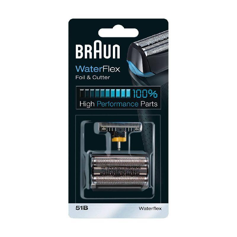 51B Сетка Braun WaterFlex в сборе + нож (51B) black тип 81453132