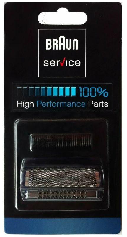 3000 Сетка Braun InterFace 3000series в сборе + нож тип 81416456 (синяя)