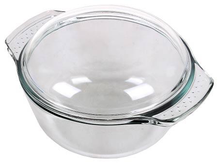 Кастрюля с крышкой GREYS GLC-003 2,0л круглая, диам.16,5 см