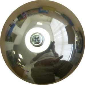 звонок дверной электрический Чаша СП1221, громкий звук, тип-школьный, диам.68мм, защита