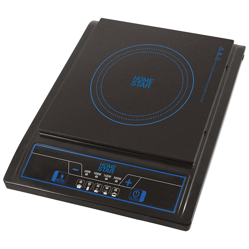 Электроплитка Homestar HS-1101 1-но конфорочная, индукционная плита, 2кВт, стеклокерамическая (002912)