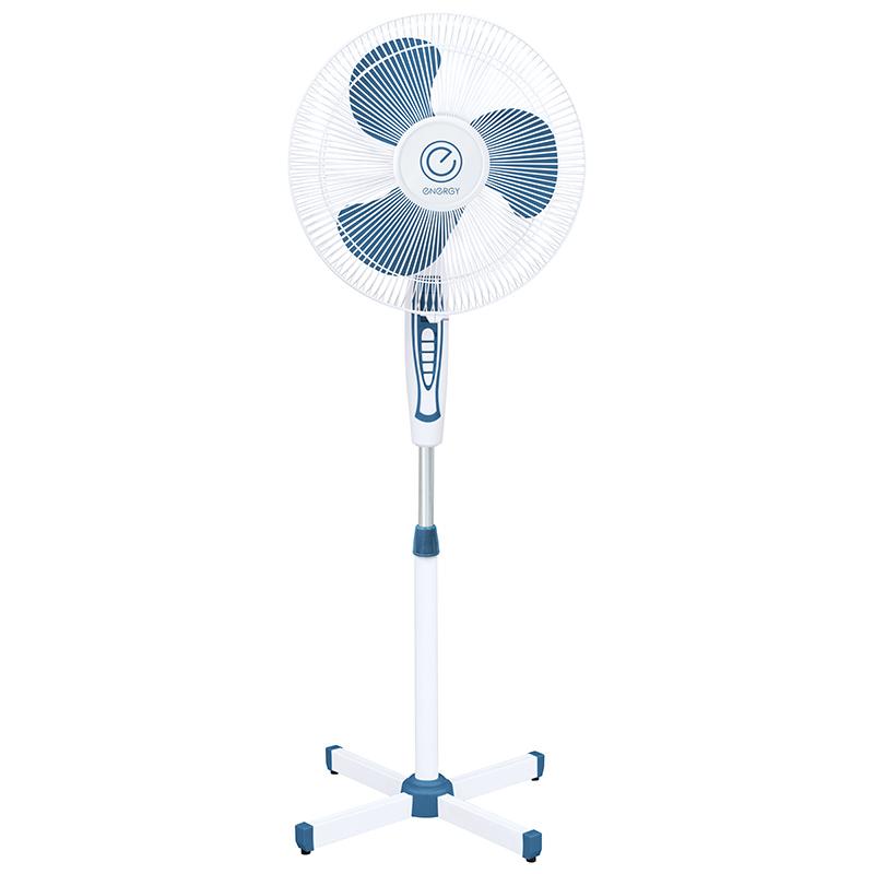Вентилятор напольный Energy EN-1635R диам.40см, 40 Вт,3 скорости, пульт, черный (1 шт. в цветной коробке)