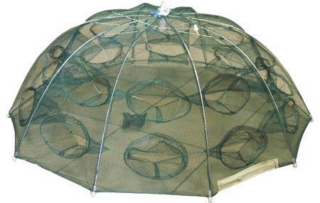 Раколовка d 90см h 35см 20 входов (механизм типа зонт)