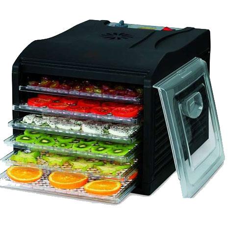 Сушилка для овощей и фруктов Kelli KL-5085 (электросушилка 6 поддонов), 23л
