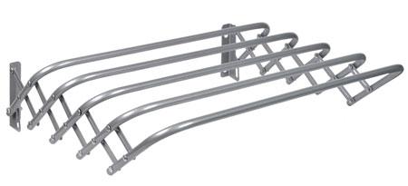 Сушилка для белья настенная гармошка Ника СН120 серебро
