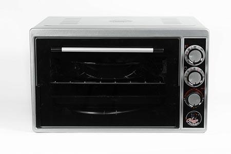 Духовка электрическая Чудо пекарь ЭДБ-0123 1500ВТ, 39л, 3 режима работы, таймер, серебристый металлик