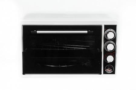 Духовка электрическая Чудо пекарь ЭДБ-0124 1500ВТ, 39л, 4 режима работы, белая