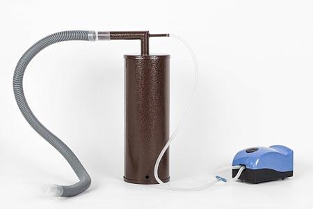 Коптильня для холодного копчения Дым Дымыч 01, компрессор, дымогенератор из стали