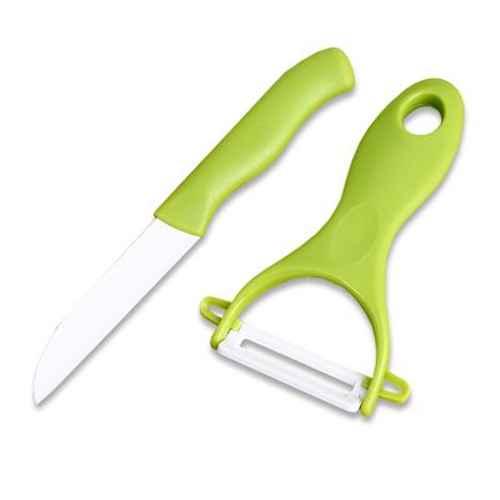 Набор Irit IRH-536 (2 предмета) керамический нож и керамическая овощечистка