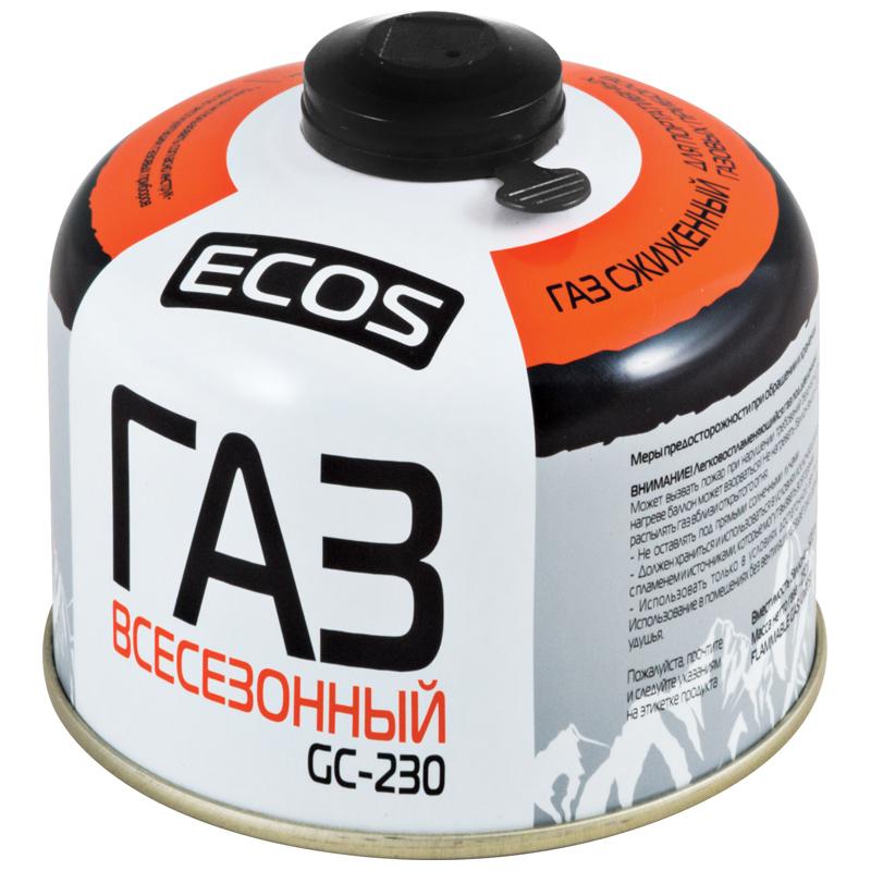 Газовый баллон GC-230 (резьбовой EPI-GAS, 230гр)