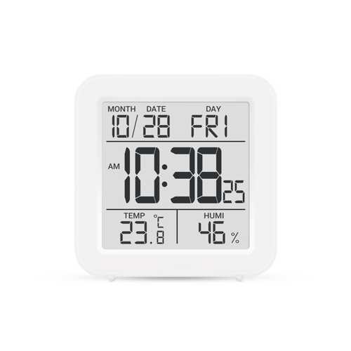 Метеостанция цифровая Стеклоприбор Т-15. Функции термометр (температура внутри), гигрометр, часы, будильник, календарь
