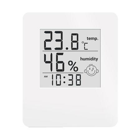 Метеостанция цифровая Стеклоприбор Т-17. Функции термометр (температура внутри), гигрометр, часы, уровень комфорта