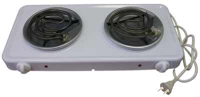 Электроплитка Пскова-2 белая ЭПТ2-2,0 220 2-х конфорочная (2 х 1.0 кВт)Купить