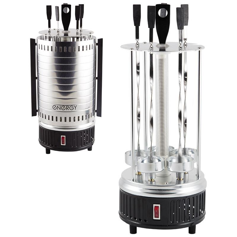 Электрошашлычница Energy Hева-1 1000Вт 5 шампуров (152452)