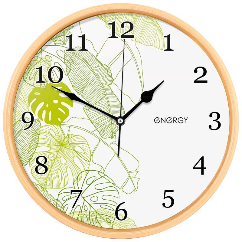 Часы настенные кварцевые Energy EC-108 круглые (32.0x4.5 см) (009481)