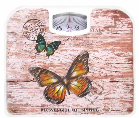 Irit IR 7312 Механические напольные весы 130кг 1кг бабочки