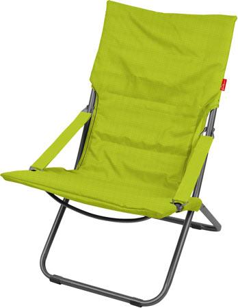 Кресло-шезлонг складное с матрасом Ника Haushalt HHK4 G Цвет-Киви (Зеленый)