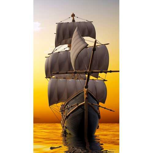 Инфракрасный пленочный обогреватель Домашний очаг 500 Вт картинка Корабль
