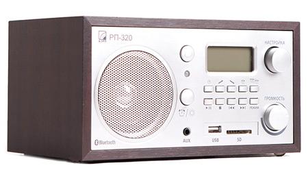 Радиоприемник БЗРП Сигнал РП-320 УКВ СВ, сеть, разъем SD USB, часы, будильник