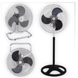 Вентилятор настольный-напольный-настенный KELLI KL-1017 125 Вт 3 в 1, диаметр 50см