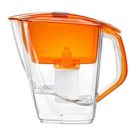 Барьер Гранд NEO фильтр для воды (янтарь) 4,2л, механический индикатор ресурса