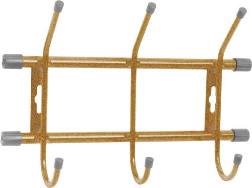 Вешалка настенная Ника ВН3 (3 крючка, 284х188мм) цвет-золото