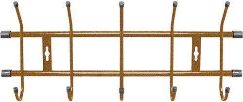Вешалка настенная Ника ВН5 (5 крючков, 484х188мм) цвет-золотой