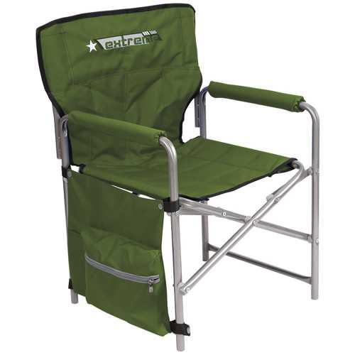 Кресло складное Ника КС1 Цвет-Хаки Строченый